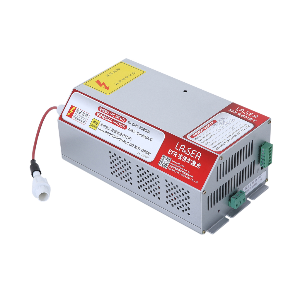 US Stock-Original EFR ES100 Power Supply with PFC Function, for F4, ZS1450 CO2 Sealed Laser Tubes