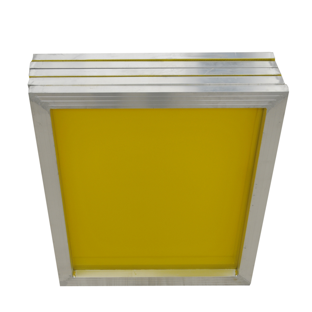 "US Stock, 6 pcs -18"" x 20""Aluminum Screen Printing Screens With 200 Yellow Mesh Count (Tubing: 1""x 1.5"")"