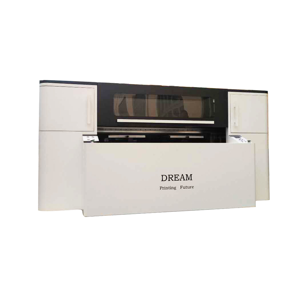 US Stock, Double Station Direct to Garment Printer with Industrial Printing Heads Panasonic (110V)