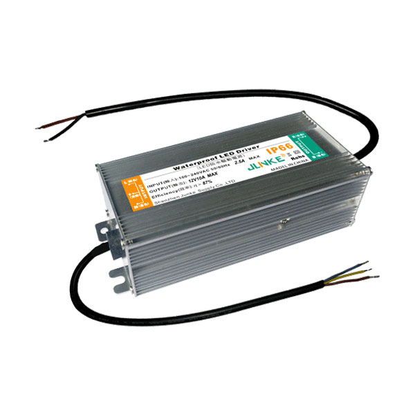 FCC 120W AC100V-240V to DC 12V 10A Waterproof Metal Shell LED Power Supply Transformer Driver(for LED Module/LED Strip/LED Bar)