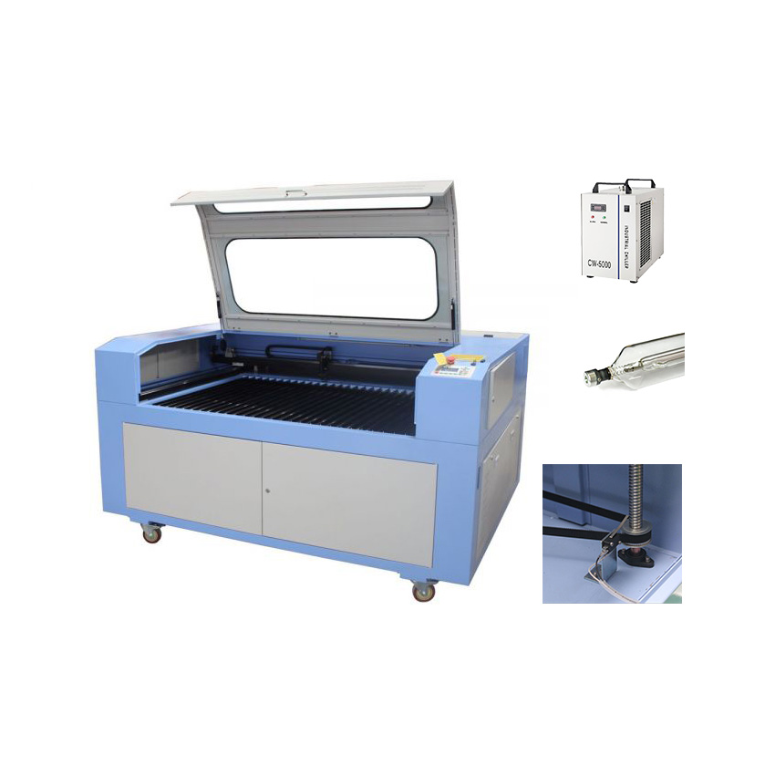 """US Stock-51"""" x 35"""" 1390 CO2 Laser Cutter, with Reci S4 Laser and Electric Lift Table"""
