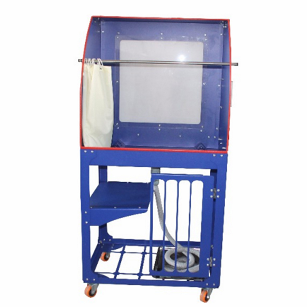 US Stock, CALCA 110V Quick Clean Screen Printing Wash Tank Vertical Rinse Sink Washout Booth with Backlight