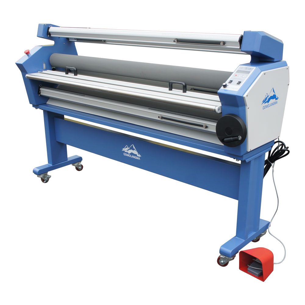 Qomolangma 67in Full-auto Wide Format Cold Laminator, with Heat Assisted