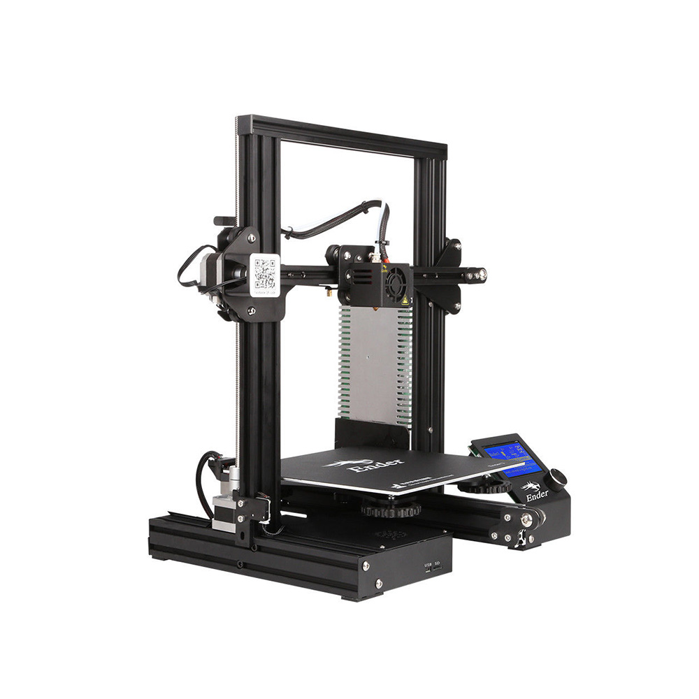 BEL Stock - Creality Ender3 3D Printer Resume Print OSHW Certified 220 x 220 x 250 mm DC 24V 15A