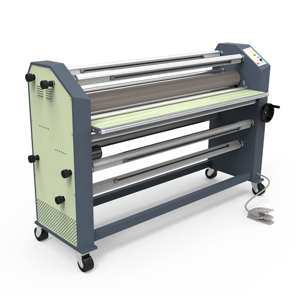 """Ving 63"""" New Type Full - auto Wide Format Hot / Cold Laminator"""
