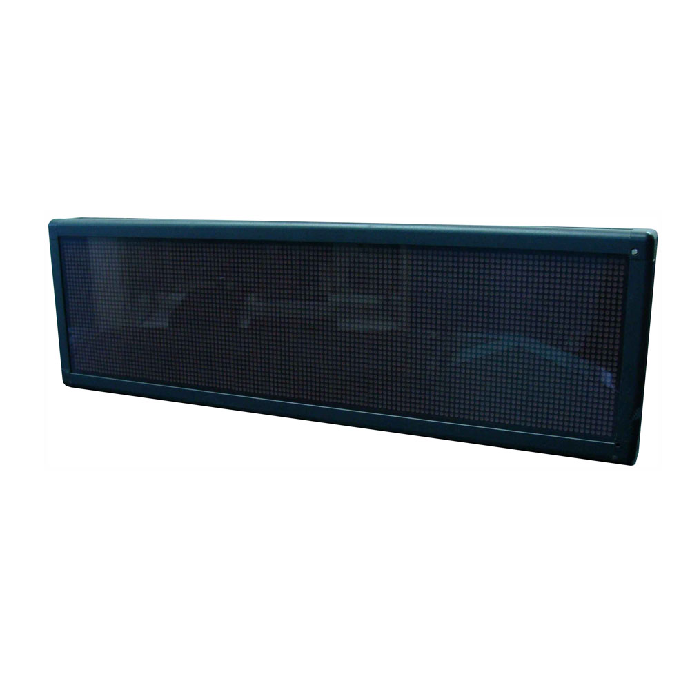 """26"""" x 8"""" Indoor 4 Lines LED Scrolling Sign (Tricolor or Single Color)"""