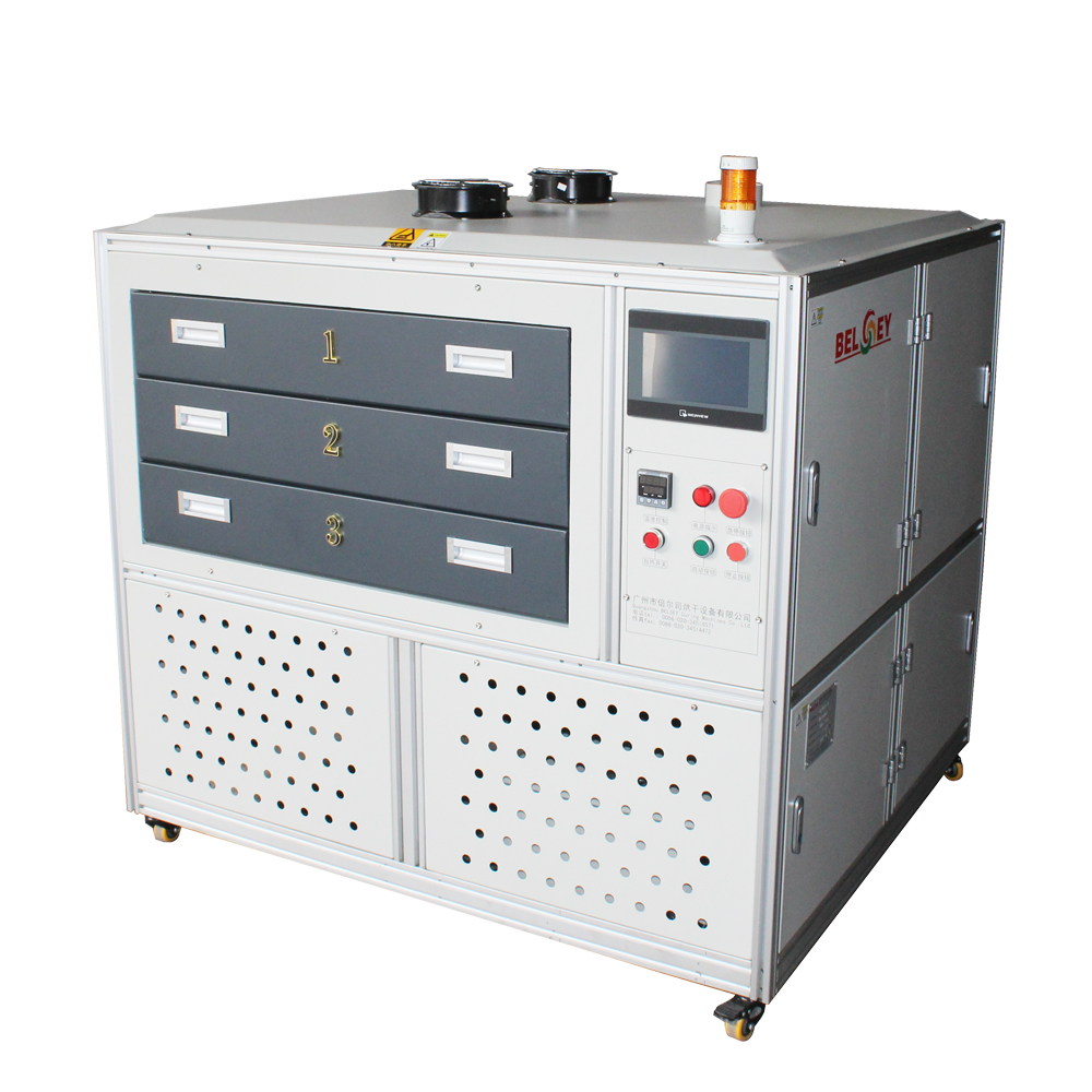 The Drawer Oven Dryer for Digital Printing