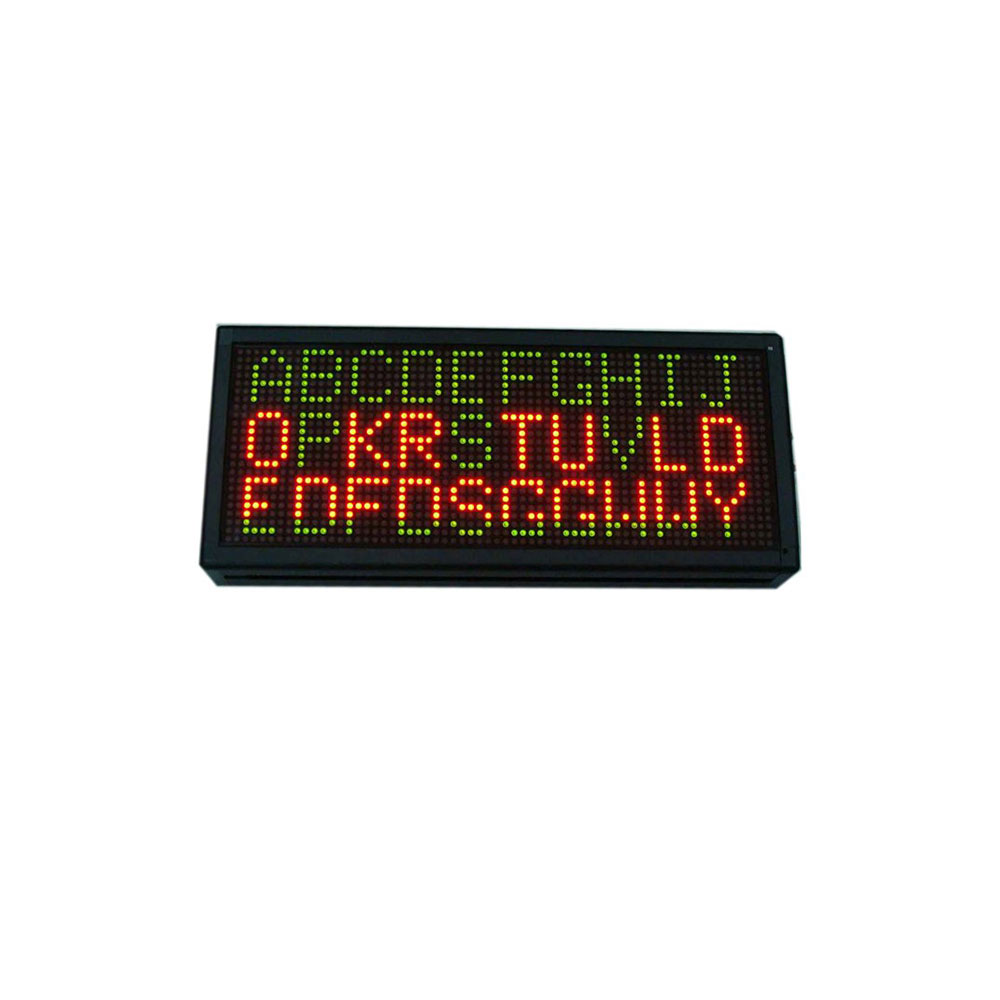 """21"""" x 9""""  Indoor 3 Lines LED Scrolling Sign(Tricolor or Single Color)"""