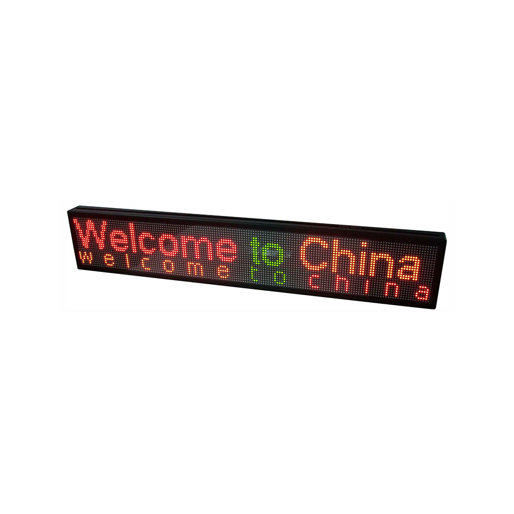 """59"""" x 9"""" Indoor 3 Lines LED Scrolling Sign(Tricolor or Single Color)"""