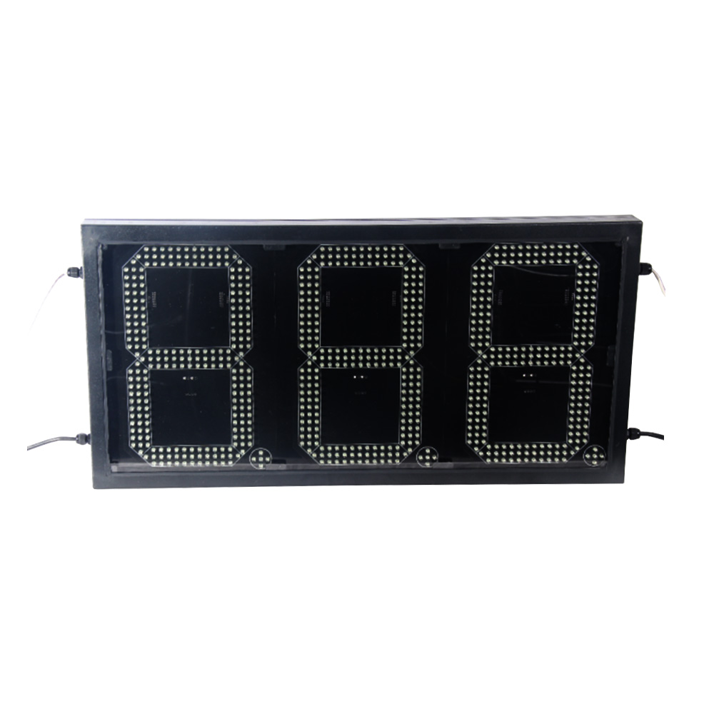 """10"""" LED GAS STATION Electronic Fuel PRICE SIGN 888"""