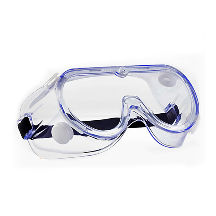 Safety Goggles Clear Lens Soft Frame Anti Fog Eye Protection Goggles