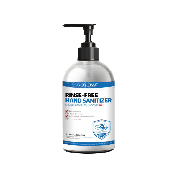 US Stock, 300ml Hand Gel wash Rinse-Free Waterless ALCOHOL Based Disinfectant 48 PCS/CTN
