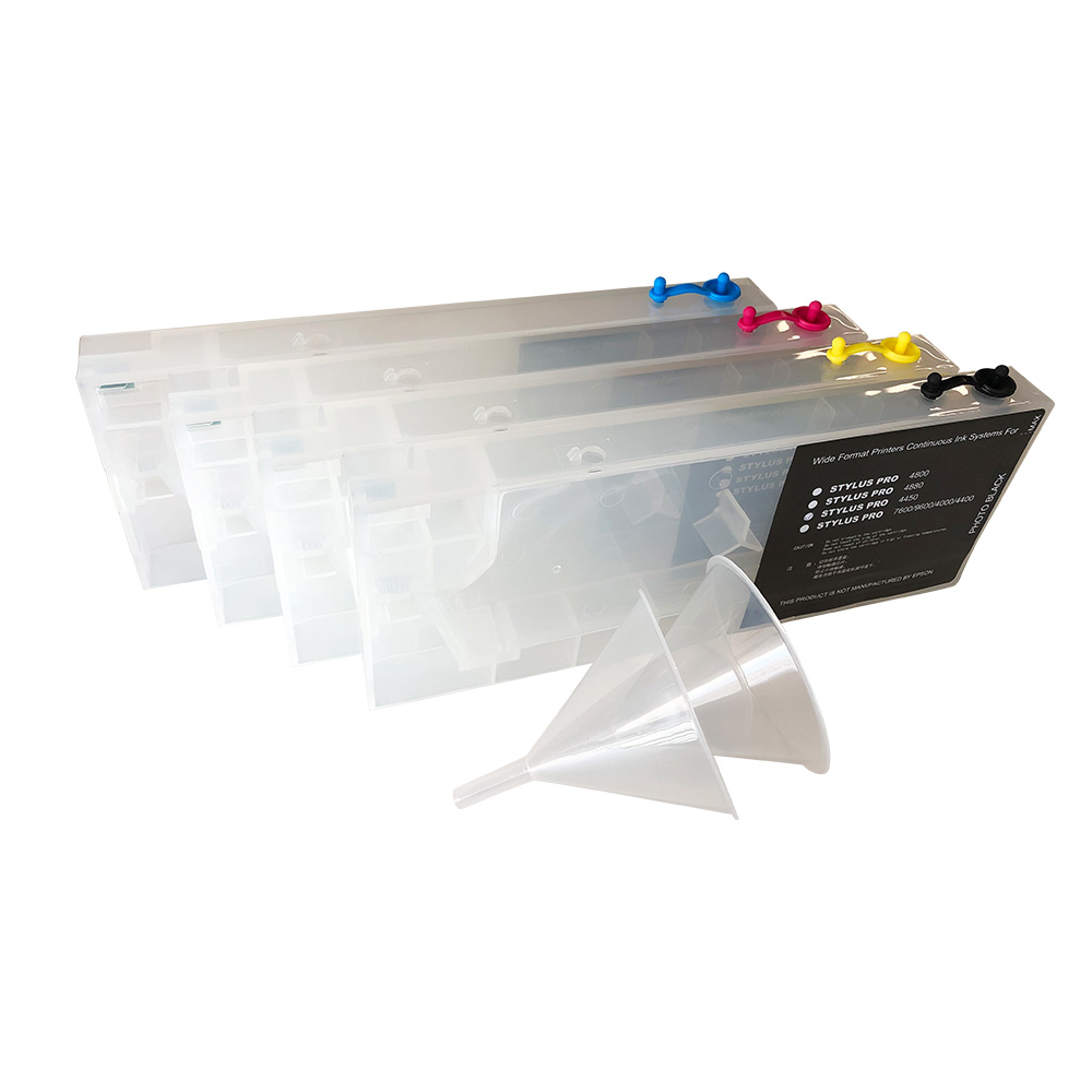 Epson Stylus Pro 4450 Refilling Cartridge, with 2 Funnels