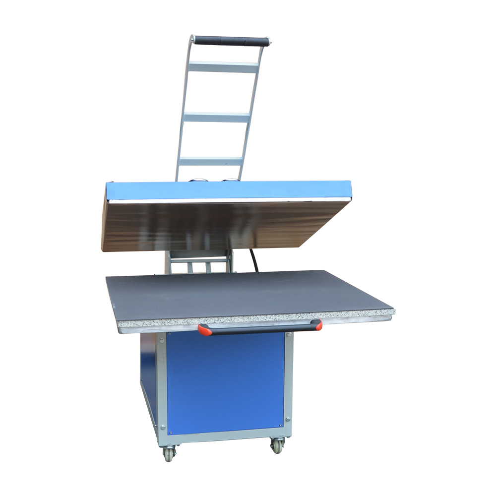 31in x 39in Large Format Manual Operation Hand Force Textile Thermo Transfer Heat Press Machine 220V 1P
