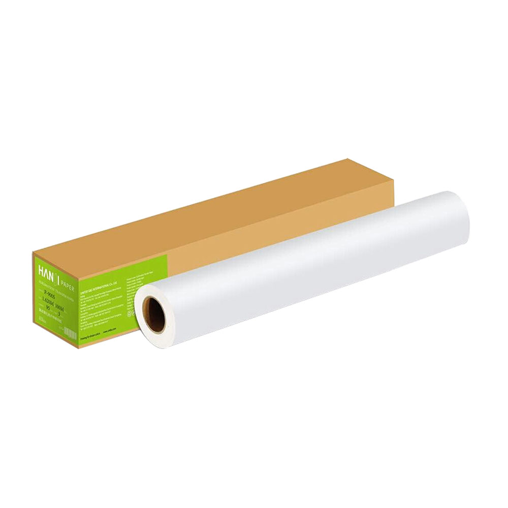 """US Stock, 90gsm 63"""" x328´ HanJi Dye Sublimation Paper for Heat Transfer Printing"""