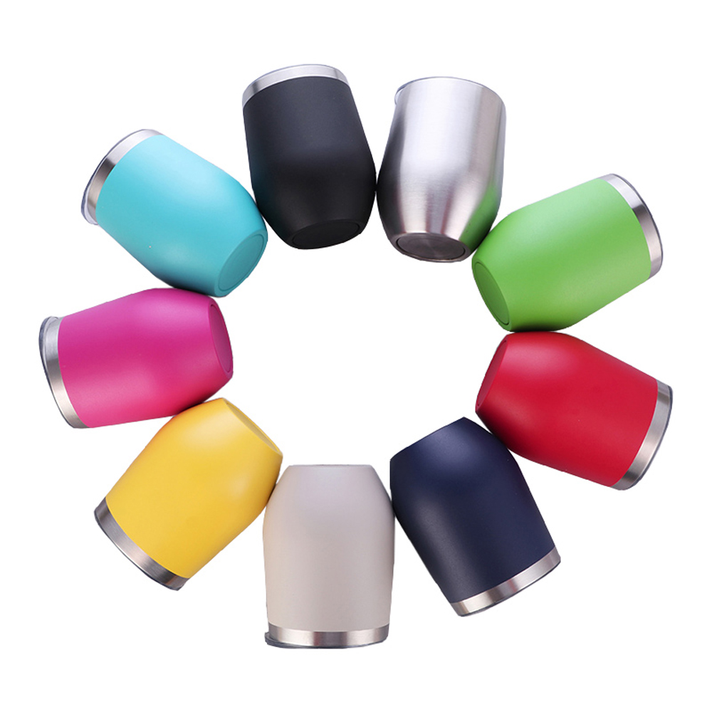6pcs 20oz Stainless Steel Tumbler Double Wall Vacuum Insulated Cup with Slider Lid