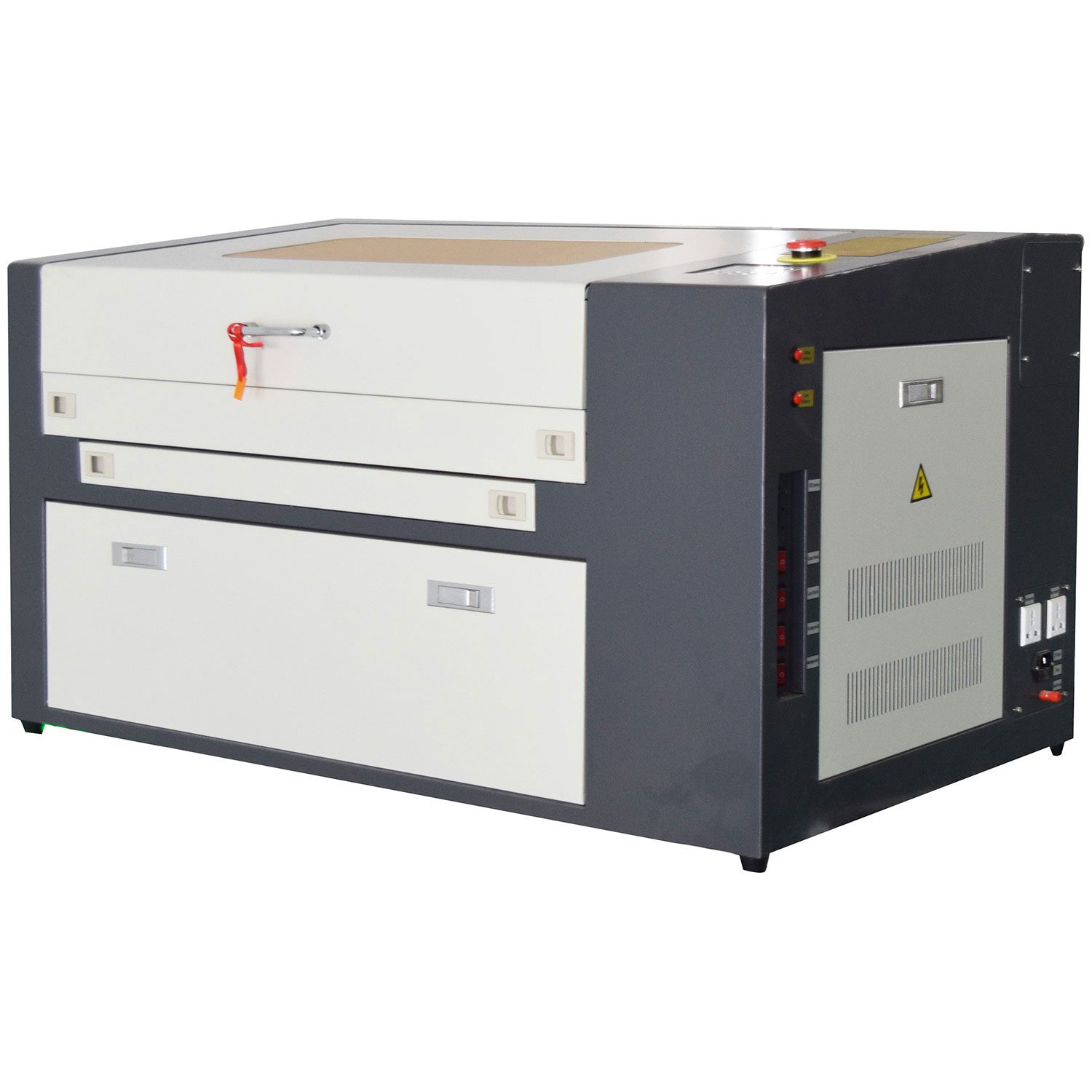"""50W CO2 Laser Engraving Machine 12"""" x 20"""" Work Table with Y-axis Rotary Roller"""