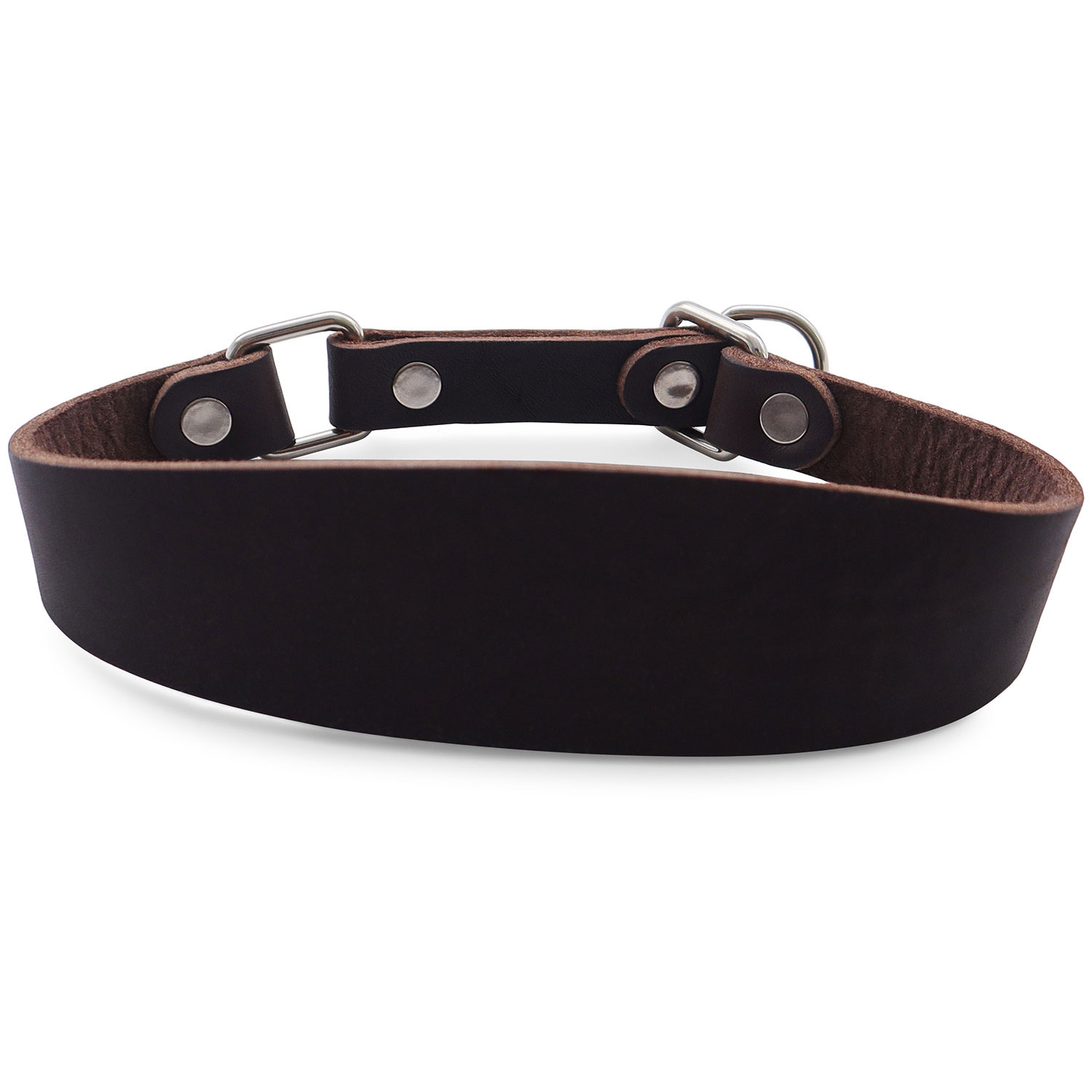 Quality Cow Leather Dog Collar