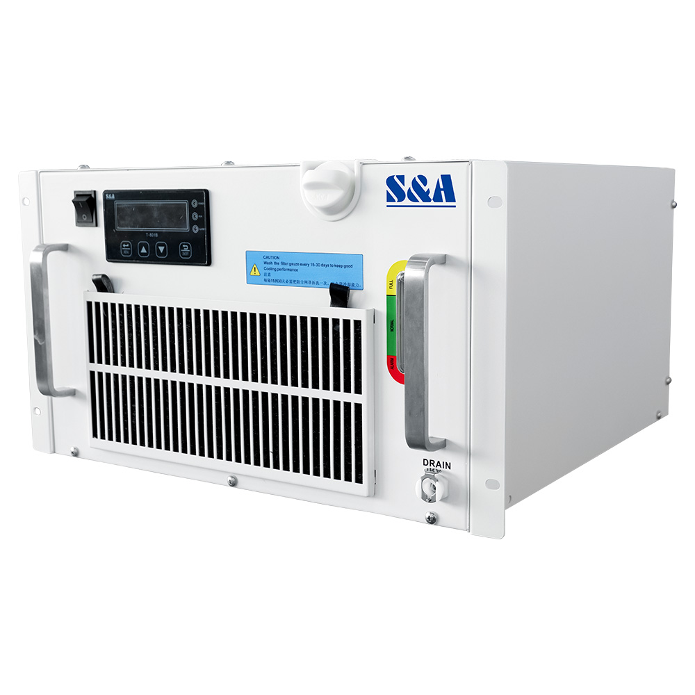 S&A RMUP-300 UV Laser Water Chillers with Rack Mount Design for Cooling 3W-5W UV Lasers