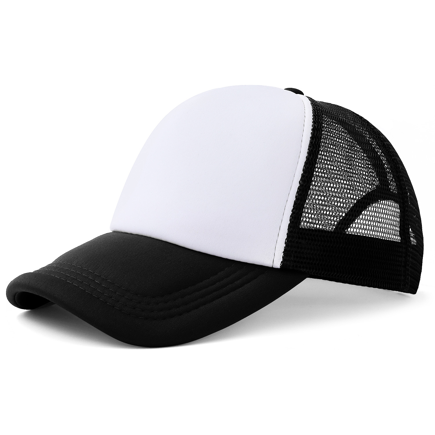 10pcs Colorful Polyester Mesh Cap Hat for Sublimation Printing