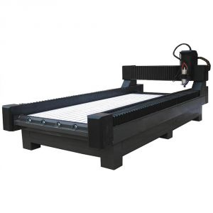 "63"" x 118"" (1600mm x 3000mm) Heavy-Duty Stone/Glass Carving CNC Router"