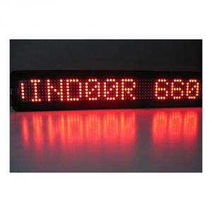 """20"""" x 4"""" Semi Outdoor 1 Line LED Scrolling Sign(single color )"""