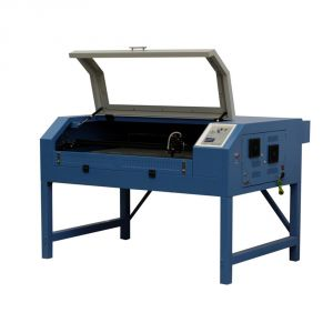 """28"""" x 24"""" (700mm x 620mm) Garment Laser Cutter with Foldable Stand"""