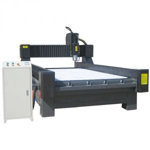"51"" x 98"" (1300mm x 2500mm) Heavy-Duty Stone/Glass Carving CNC Router"