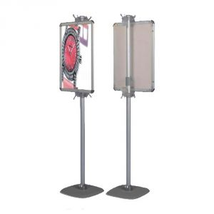 Retractable Pole Floor Standing Display (Frame only)