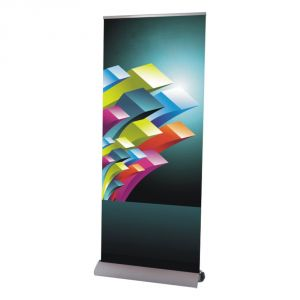 "39"" W x 95"" H High Quality Dismountable Base Roll Up Banner Stand (Stand Only)"