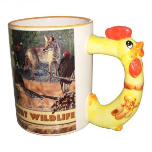 11OZ  Sublimation Ceramic Animal Mug