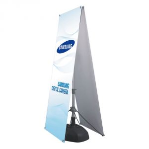 Double-Sided Adjustable Water Tank Poster Stand (Frame only)
