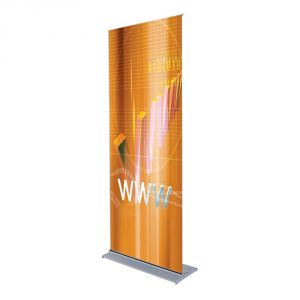 """Multi-Feature Roll Up Banner Stand-31""""x79"""""""