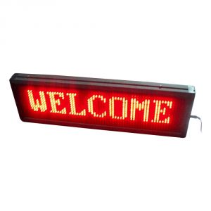 "20"" x 6"" Indoor 2 Lines LED Scrolling Sign (Tricolor or Single Color)"