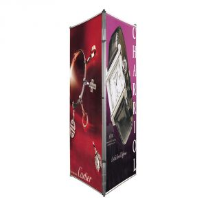 Three Sided Banner Stand (Stand only)