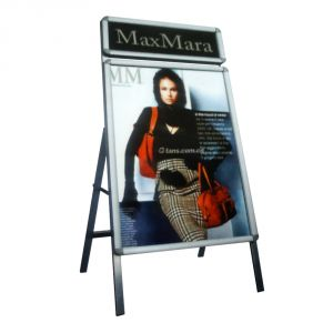 Single Sided Freestanding 60x90cm A Frame Poster Stand Street Sign Display Board (Frame only)