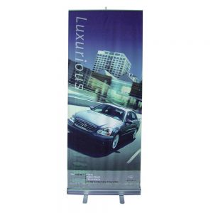 "33""W x 79""HGood Quality Standard Roll Up Banner (Graphic Include)"