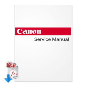 CANON iPF8100/iPF8300 Large Format Printer English Service Manual, Parts List