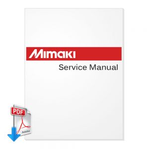 MIMAKI JV2-160 JV2-180 English Service Manual + Spare Parts Manual