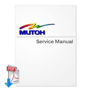 Mutoh Rockhopper II Plotter English Service Manual