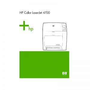 HP 4700 Printer Chinese Service Manual Repair Manual