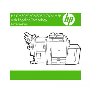 HP CM8060 CM8050 Color MFP English Maintenance Manual