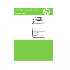 HP Color LaserJet CM6049f MFP English Service Manual