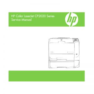 HP Color LaserJet CP2020 CP2025 English Service Manual