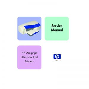 HP Designjet 10 20 30 50 70 90 100 110 120 130 Plotter English Service Manual