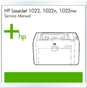 HP LaserJet 1022 1022n 1022nw Printer English Service Manual/Repair Manual