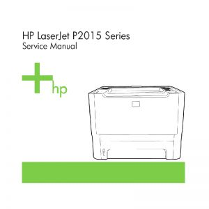 HP LaserJet P2015 English Maintenance Manual