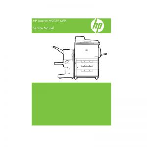 HP Laserjet M9059 MFP English Service Manual