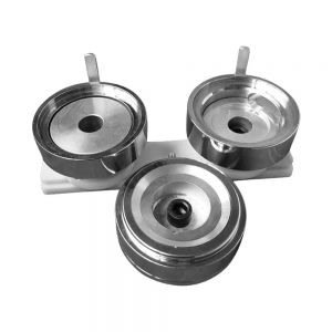 """2"""" (50mm) Economic Round Interchangeable Die Mould with Plastic Slide Rail for DIY Badge Maker Machine"""