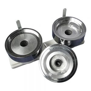 """3"""" (75mm) Economic Round Interchangeable Die Mould with Plastic Slide Rail for DIY Badge Maker Machine"""